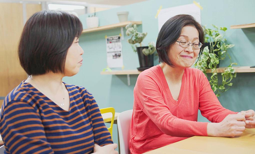 治田友香さんと中川陽子さん